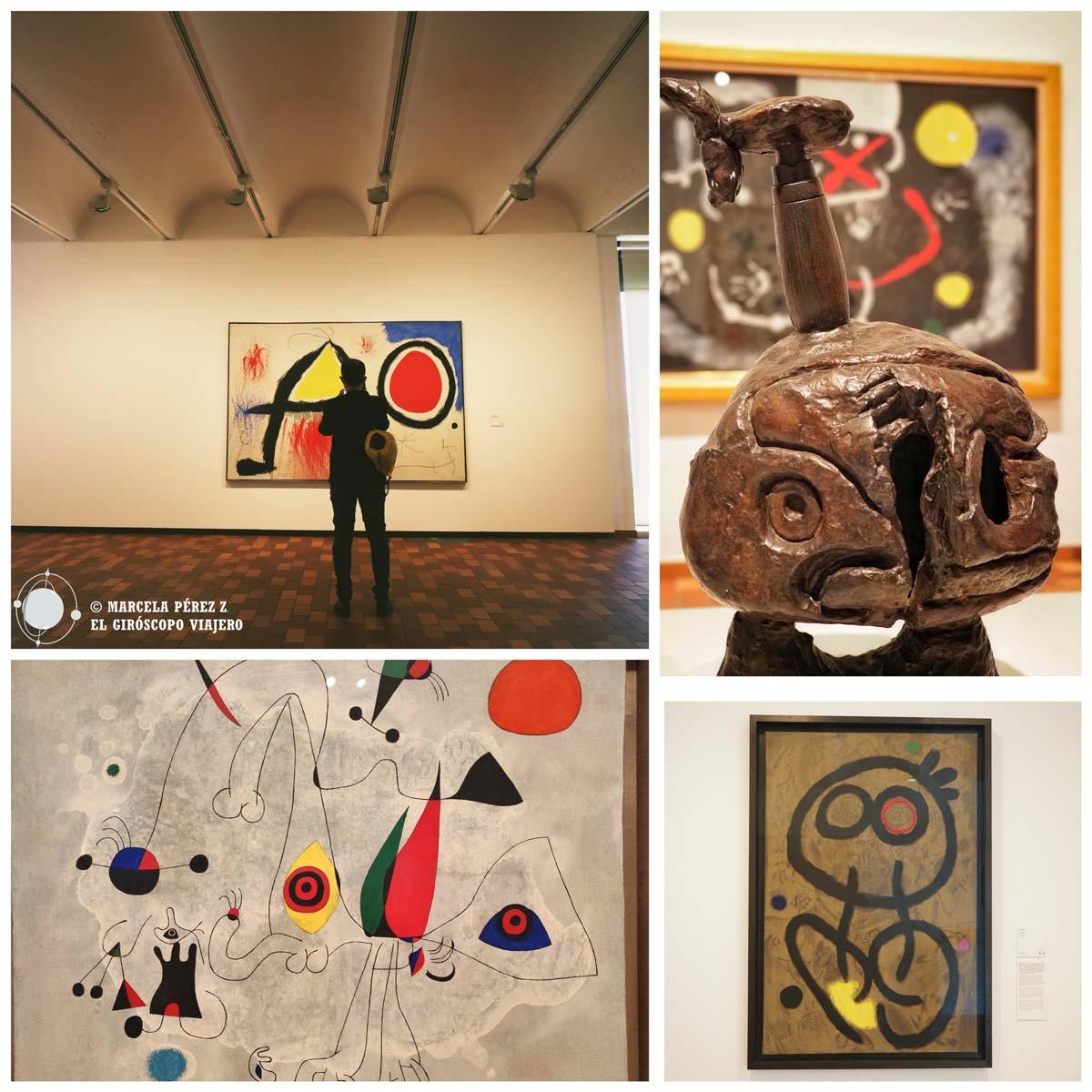Recorrido por el interior de la Fundación Miró
