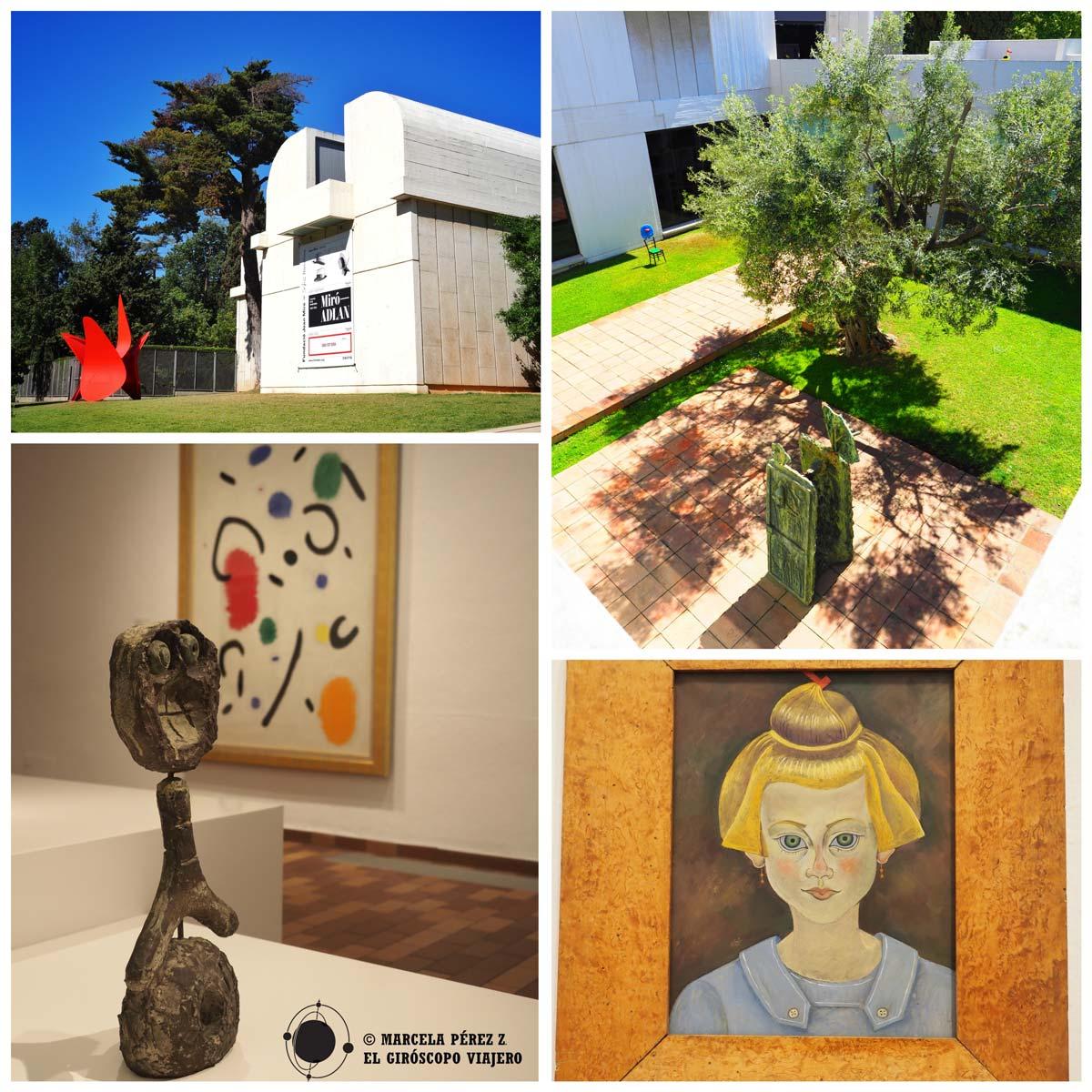 Fundación Miró, uno de los museos más interesantes de Barcelona
