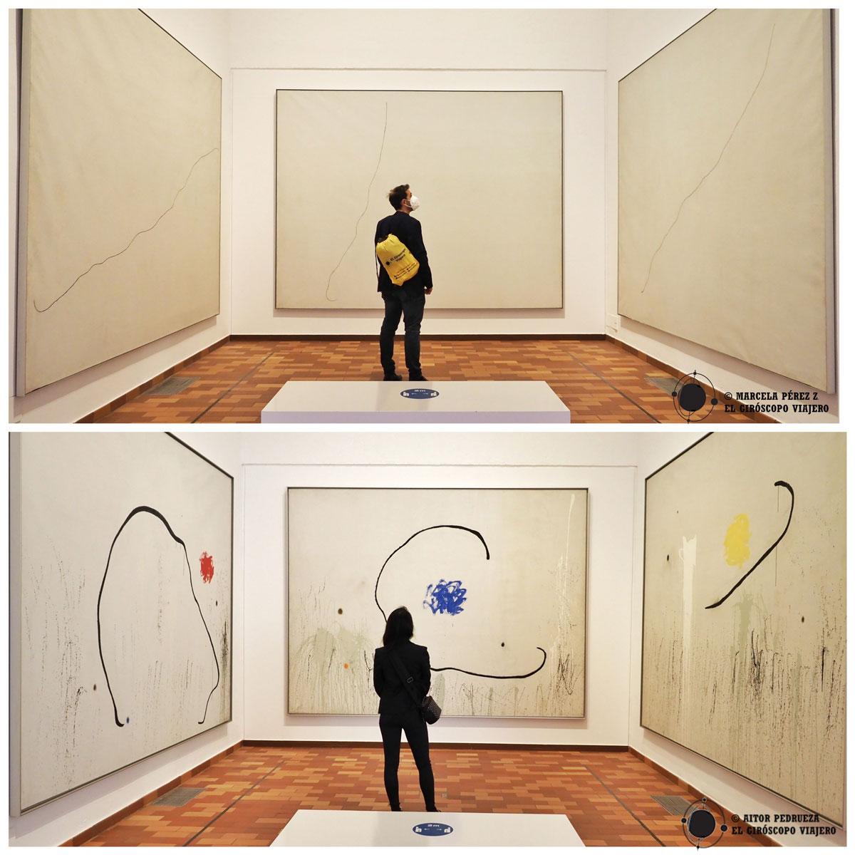 Recorriendo el interior de la Fundación Miró