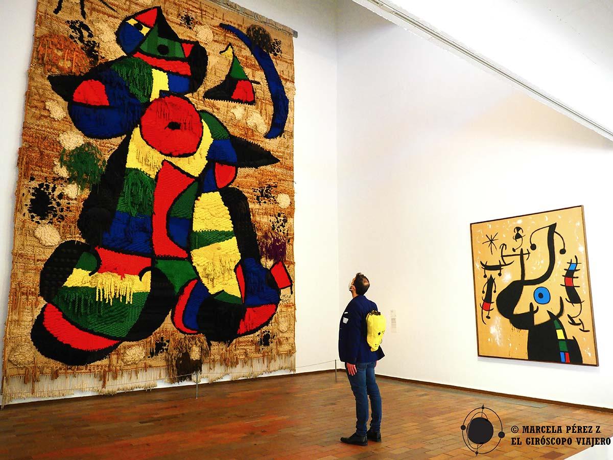 Visita a la Fundación Miró en Barcelona