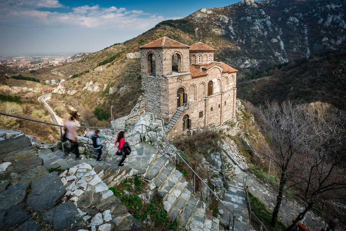 Asenova krepost (Fortaleza de Asen) en Bulgaria