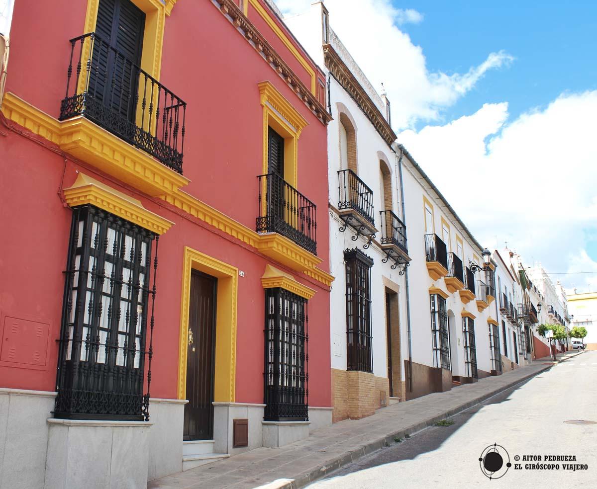 Casas del centro de Montellano