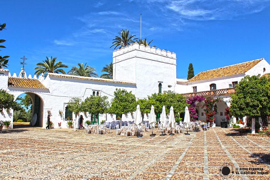 Hacienda Torre Doña María a las afueras de Dos Hermanas.