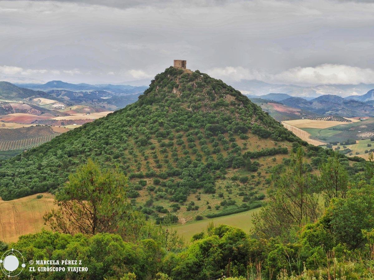 Vista del Castillo de Cote en Montellano