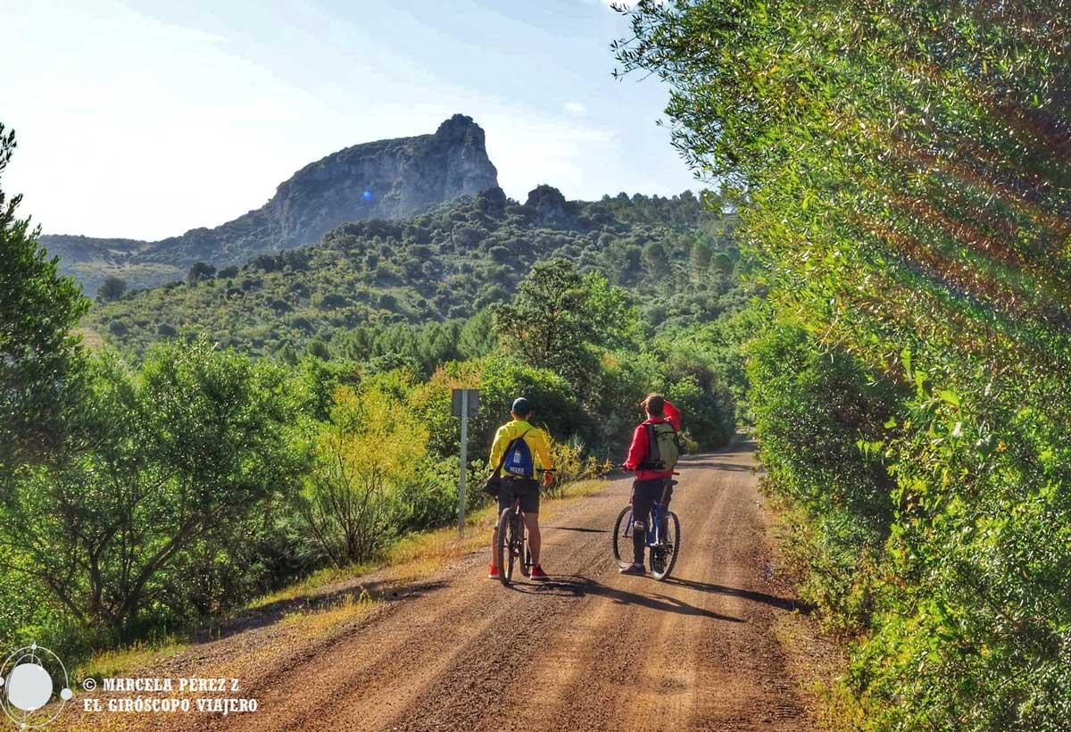 Ruta en bicicleta por la Vía Verde de la Sierra