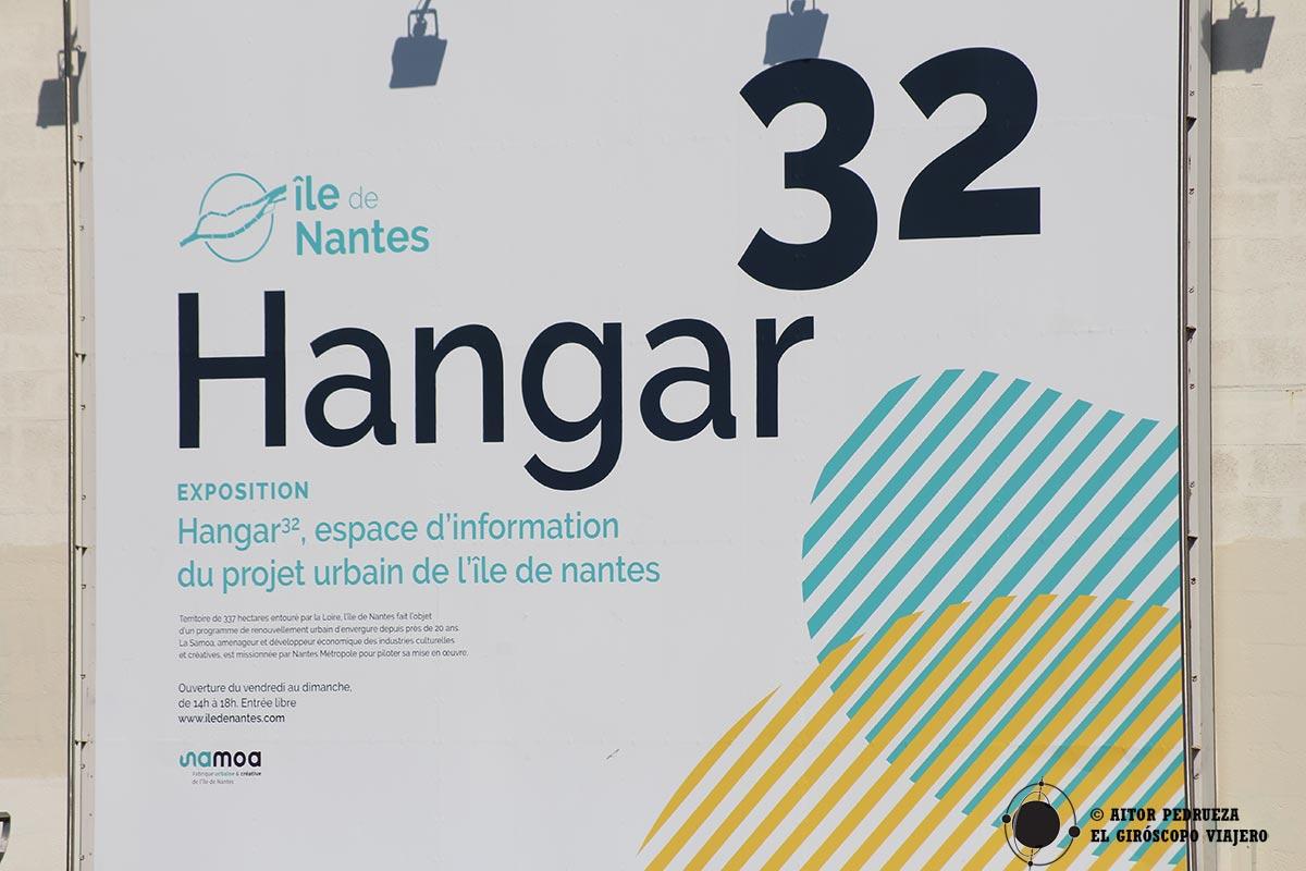Hangar 32 en Nantes
