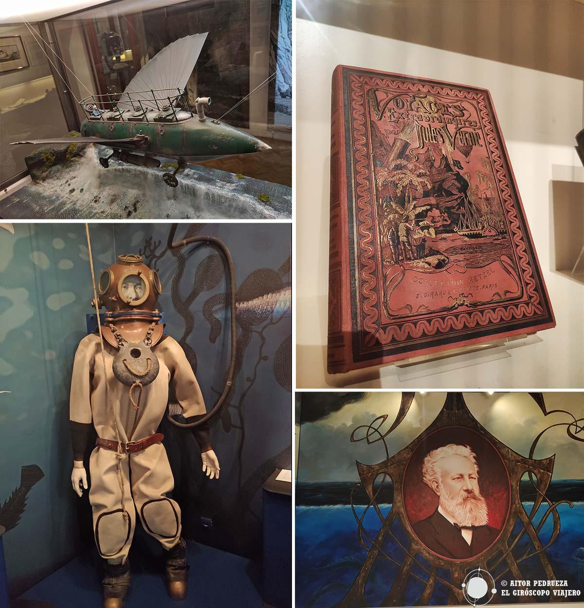 Objetos en el Museo Julio Verne.Objetos en el Museo Julio Verne.
