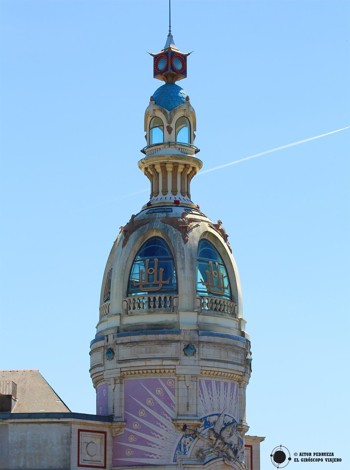 Torre LU, de estilo art Decó