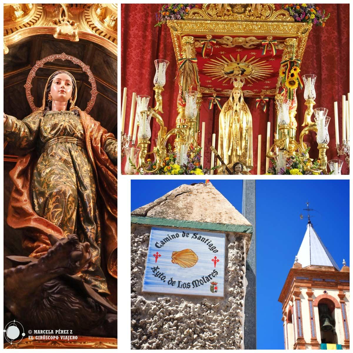 Iglesia parroquial de Santa Marta en Los Molares