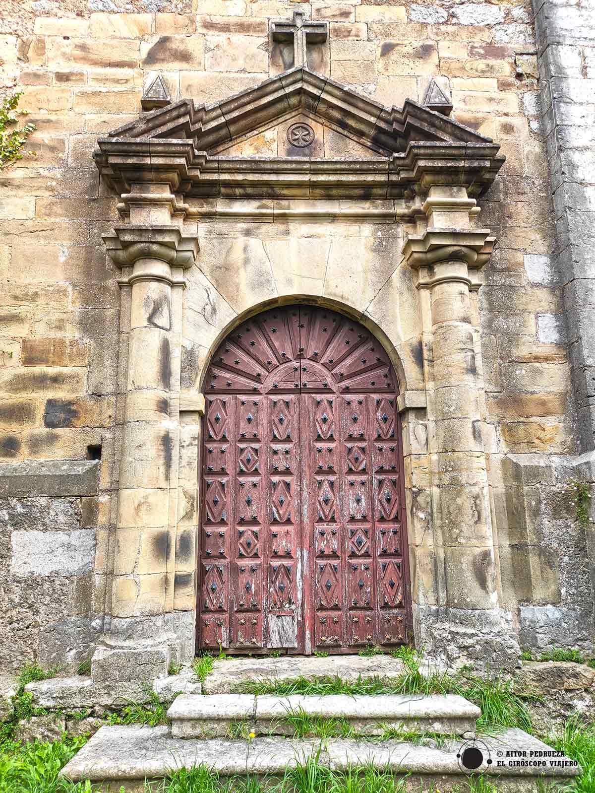 Entrada Iglesia Rucandio