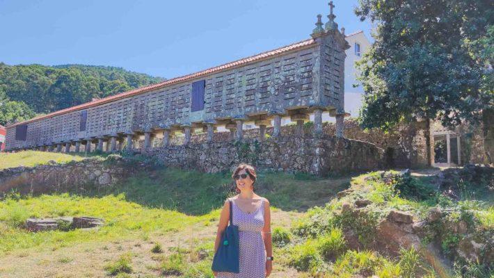 El hórreo de Carnota y el hórreo de Lira, de los graneros más largos de Galicia…y del mundo