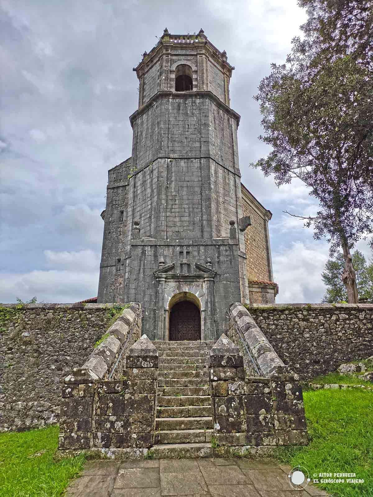 Iglesia de Santa María Magdalena en Rucandio.