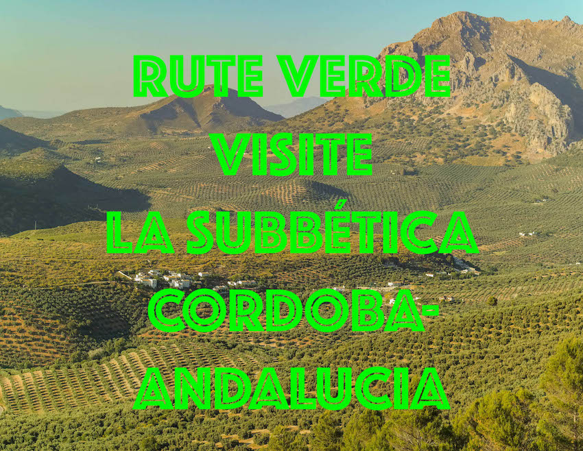 Rute Verde, Subbética, Centro de Andalucía