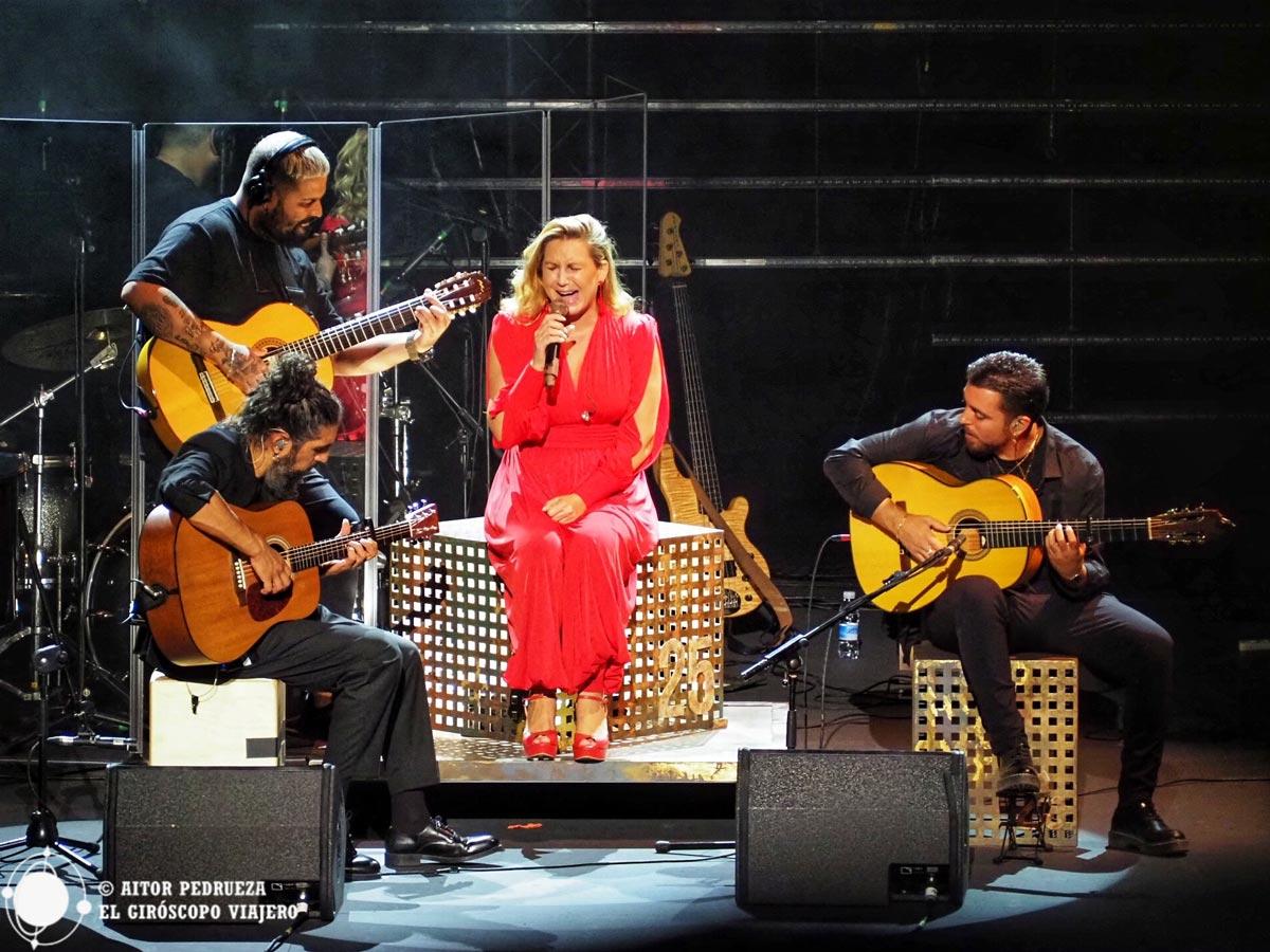 Concierto de Niña Pastori en el festival Flamenco on fire