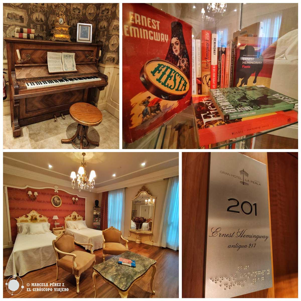 El Gran Hotel La Perla de Pamplona