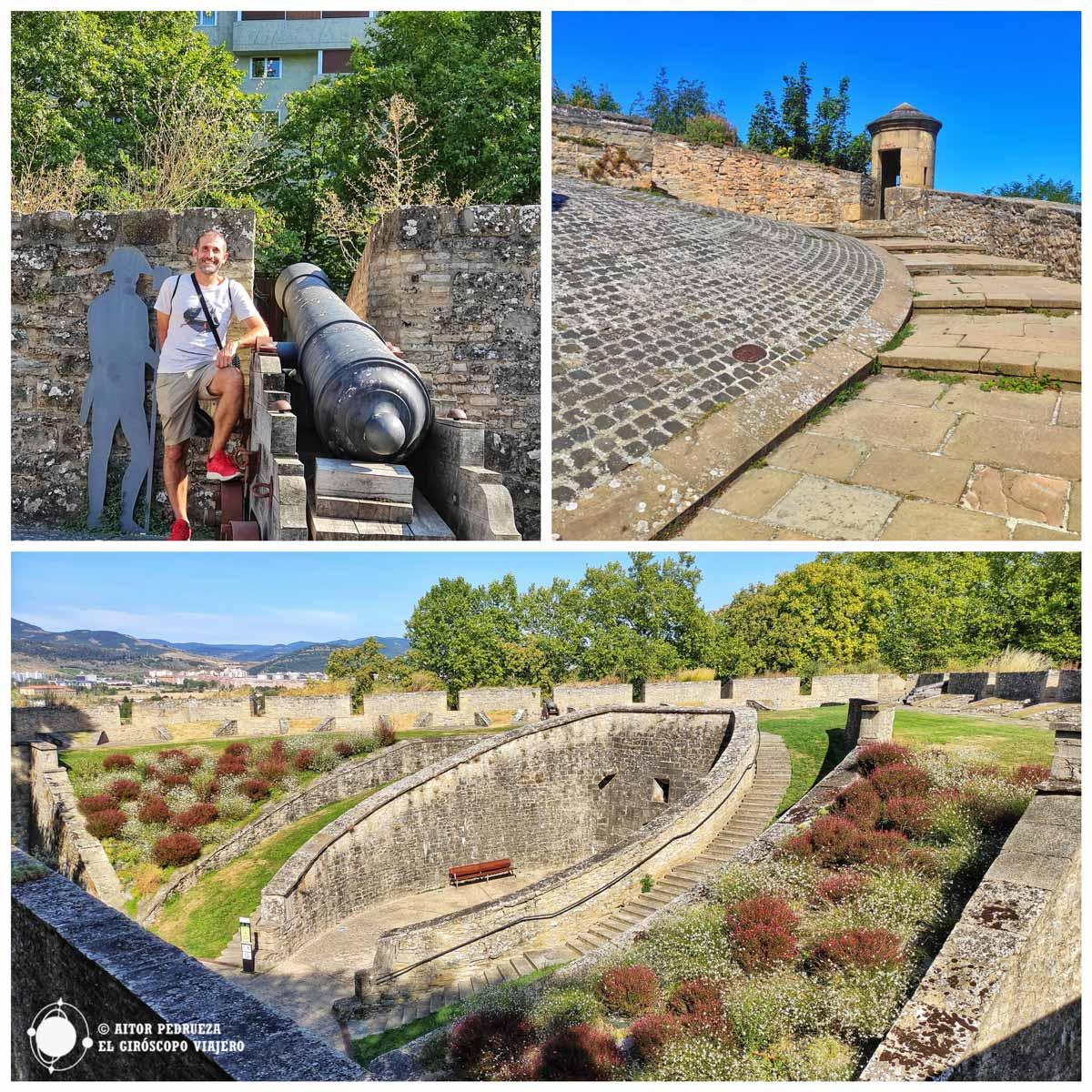 Las murallas de Pamplona componen uno de los mejores recintos defensivos conservados