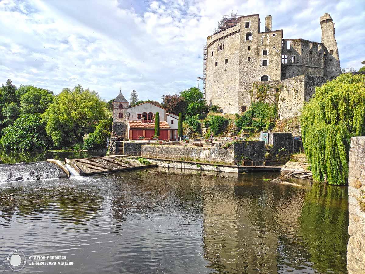 Castillo de Clisson, exponente en el viñedo de Nantes