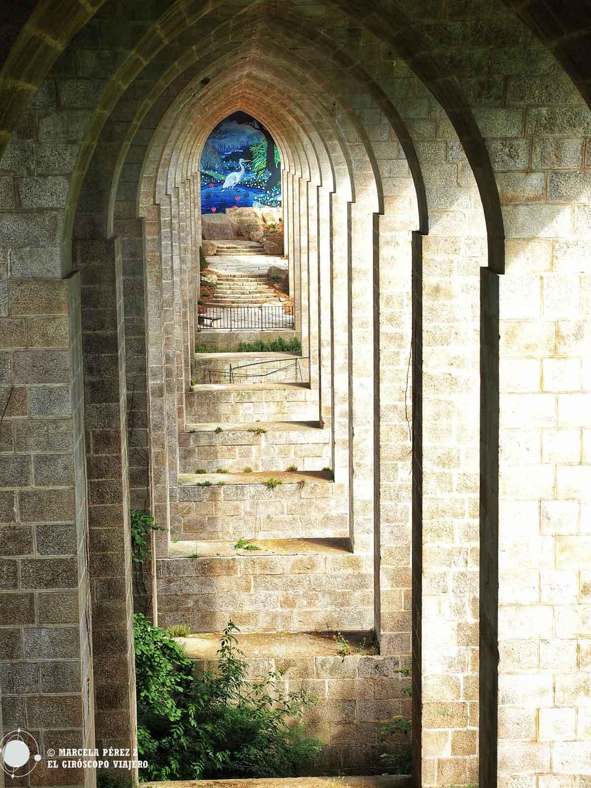Arcos del viaducto de Clisson