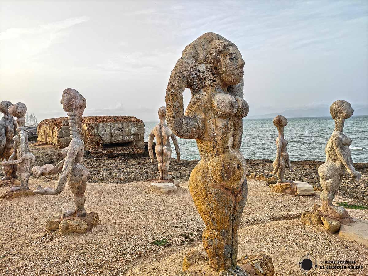 Esculturas de Joan Bennàssar en Can Picafort
