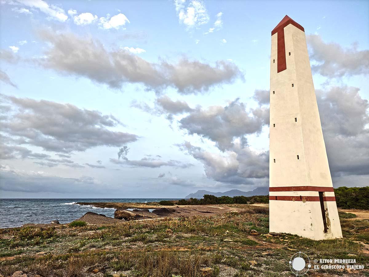 Torre de enfilación en Son Serra de la Marina